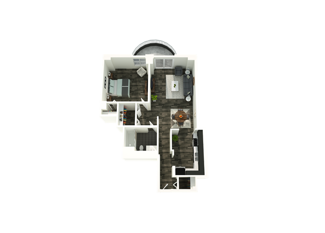 1 Bedroom 03/20 Floor Plan 1