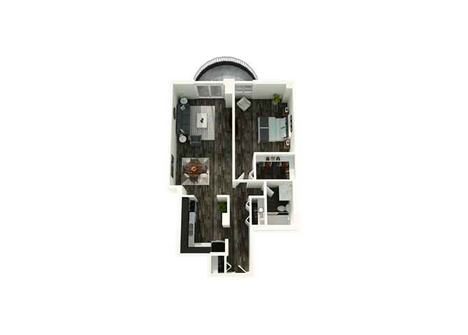1 Bedroom 05/18 Floor Plan 2