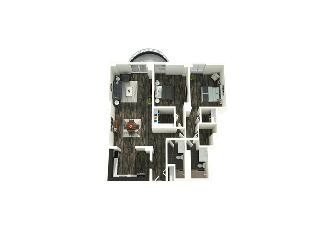 2 Bedroom 09/14 Floor Plan 9