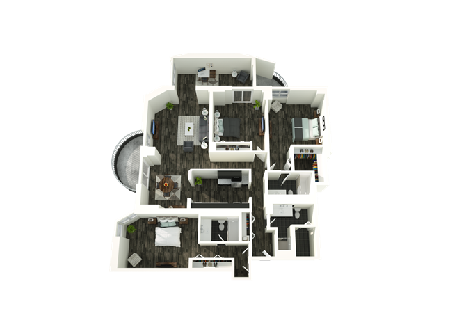 3 Bedroom 10 Floor Plan 11