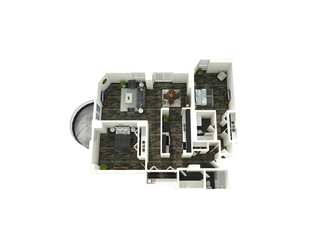2 Bedroom 11/12 Floor Plan 10