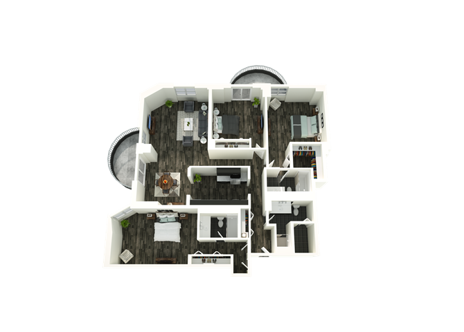 3 Bedroom 13 Floor Plan 12