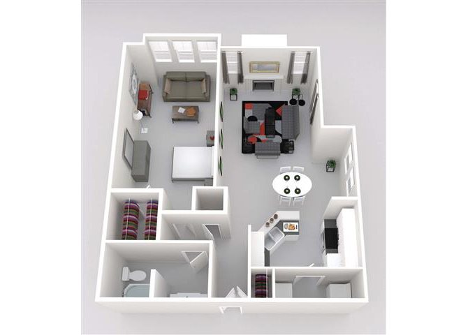 Carlsbad w/Bed Ext Floor Plan 5