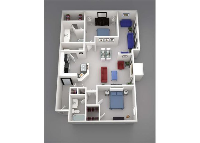 Denali w/Living Ext Floor Plan 10