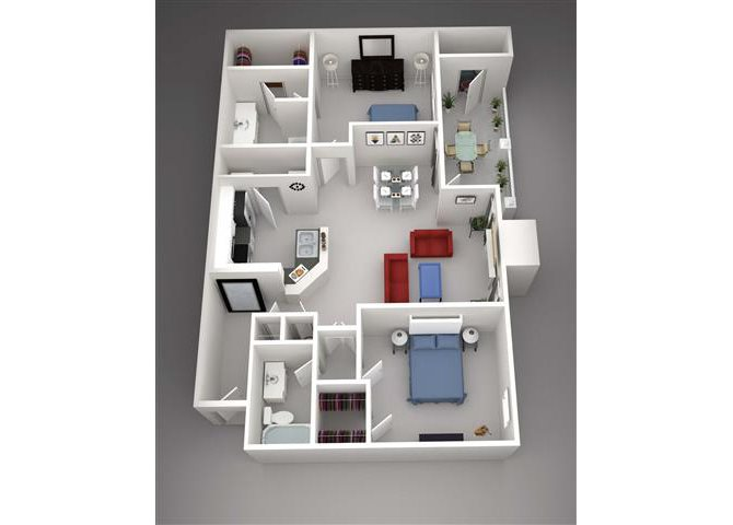 Denali w/Attached Garage Floor Plan 11