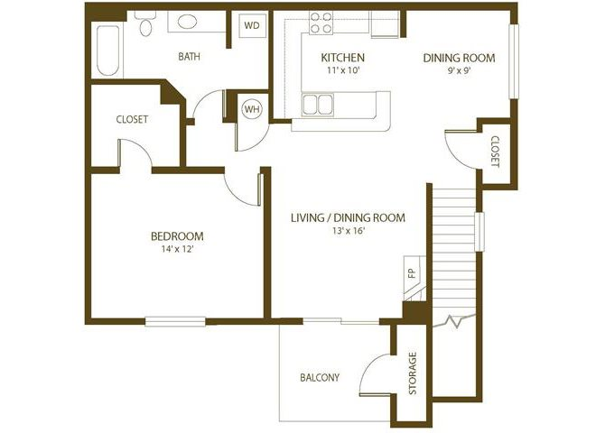 Merganser Floor Plan 3