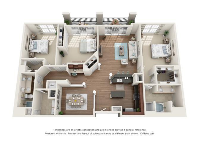 Silver Leaf Floor Plan 10
