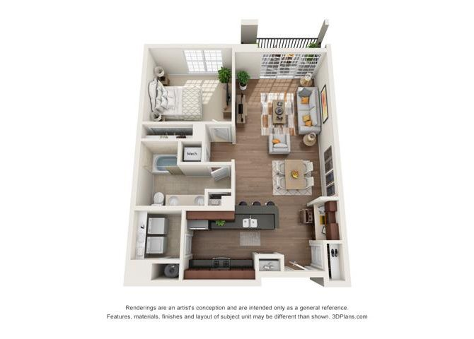 White Oak Floor Plan 3