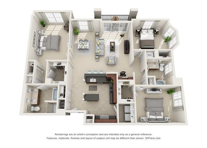 York Floor Plan 8