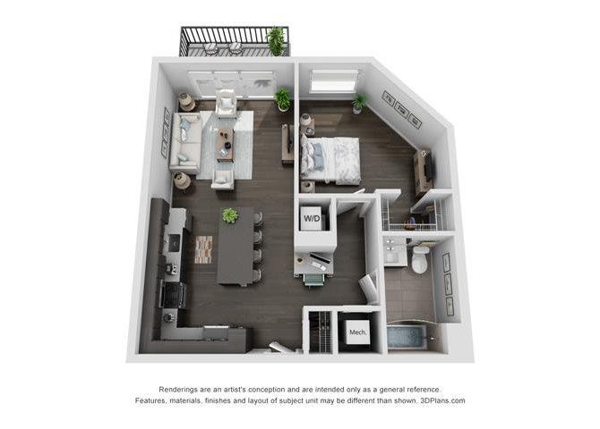 1A Plus Floor Plan 3