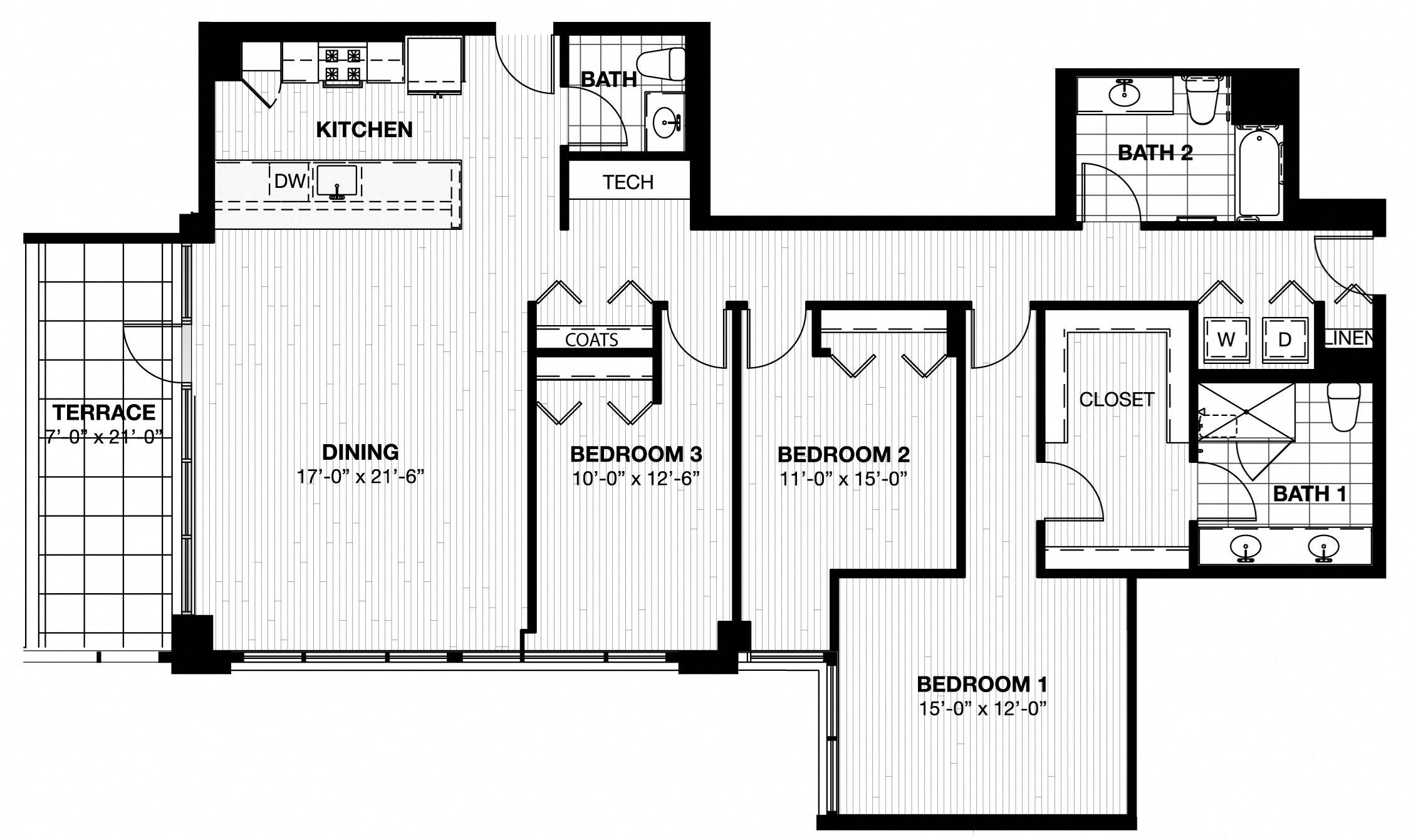 601 Floor Plan 14