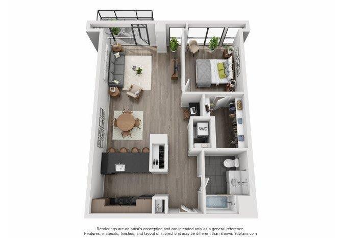 507-607 Floor Plan 9