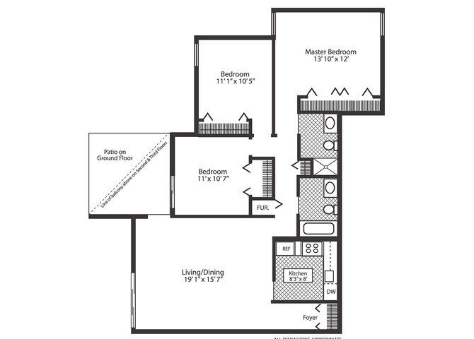 Oak Floor Plan 9