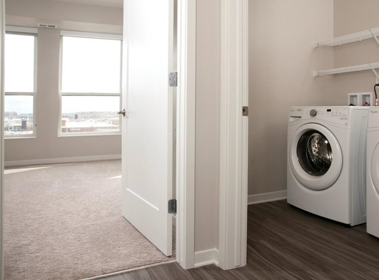 Full-Sized Washer And Dryer Residences at 1700 Vacant Bedroom Laundry Washer Dryer