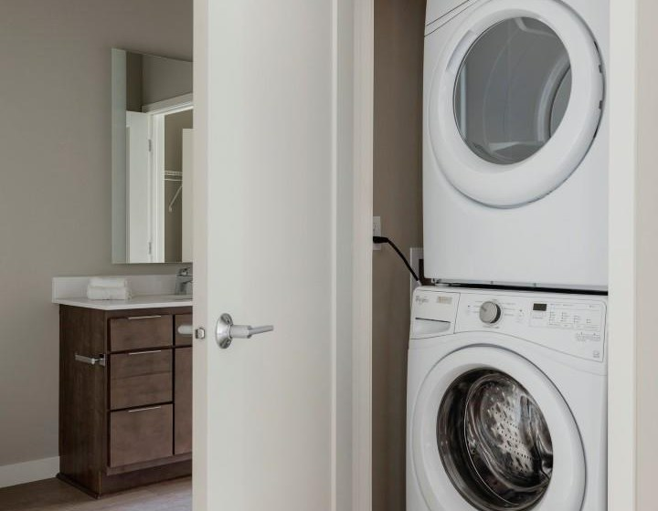 In-Unit Washer and Dryer at The M on Hennepin Apartments in Minneapolis, MN