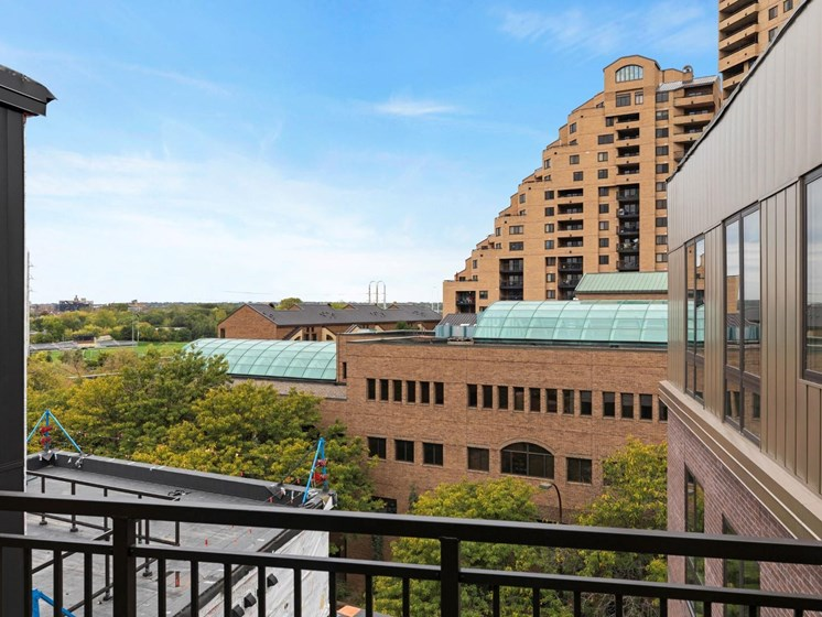 Balcony Views at The M on Hennepin Apartments in Minneapolis, MN