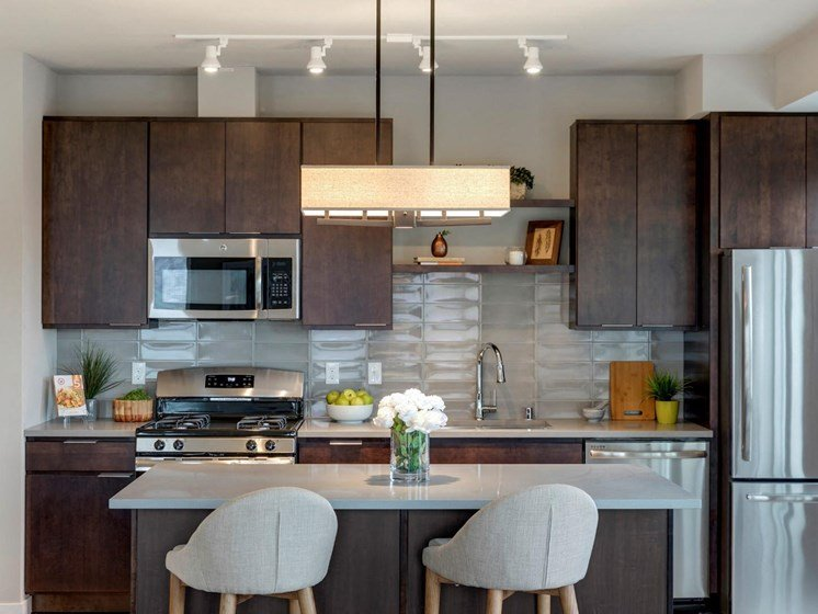 Kitchen Island at The M on Hennepin in Minneapolis, MN