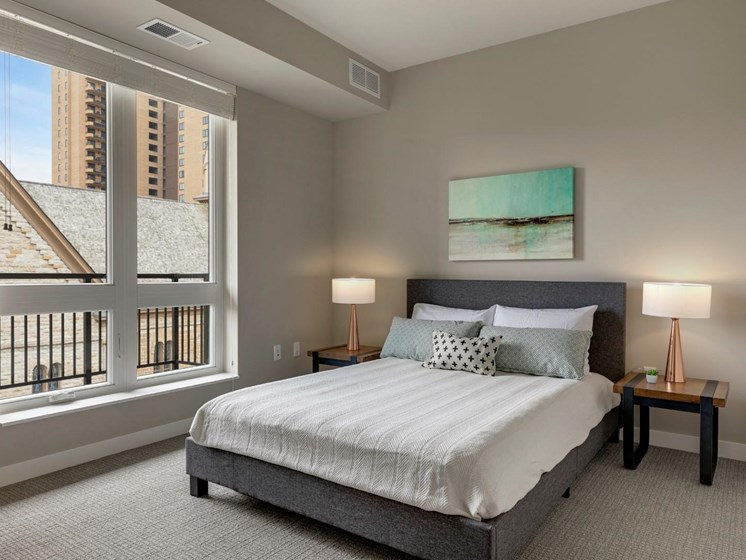 Spacious Bedrooms at The M on Hennepin in Minneapolis, MN