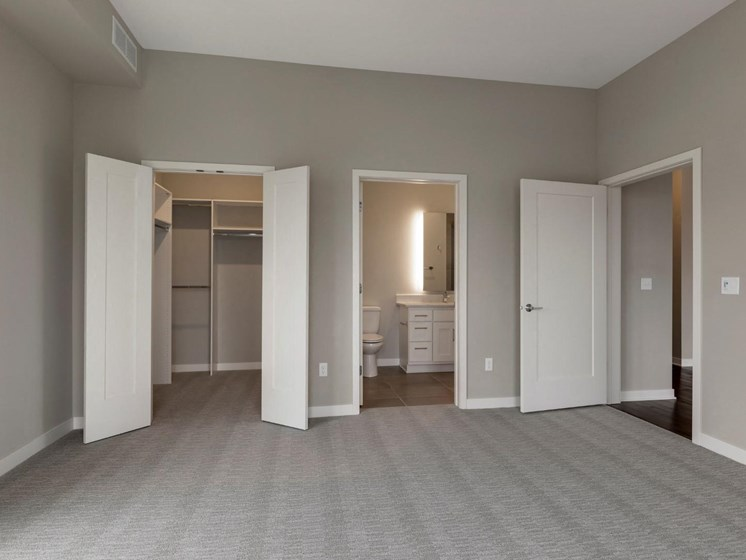 Spacious Bedrooms With Large Closets at The M on Hennepin in Minneapolis, MN