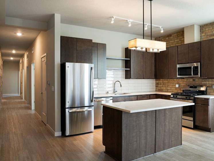 Modern Kitchen at The M on Hennepin in Minneapolis, MN