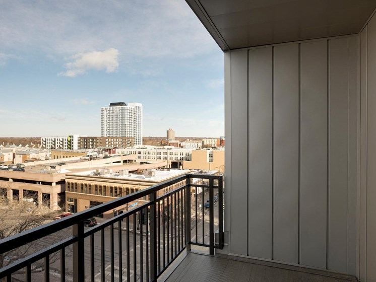 Large Balcony at The M on Hennepin in Minneapolis, MN