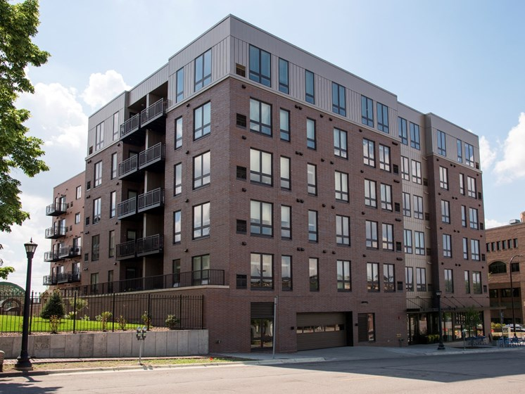 Street view of Property at The M On Hennepin Apartments in Minneapolis, MN