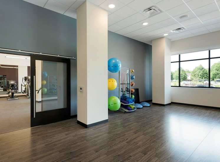 Yoga/Pilates Studio at The Shoreham, St. Louis Park, MN 55416