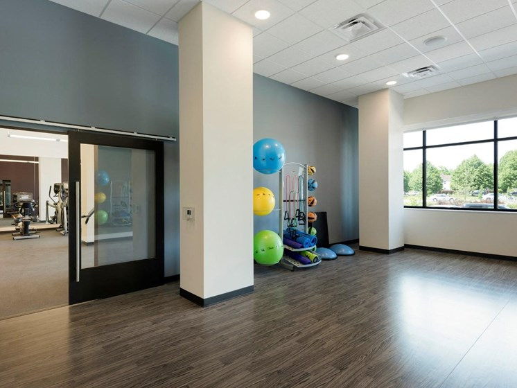 Yoga/Pilates Studio at The Shoreham, St. Louis Park, MN 55416