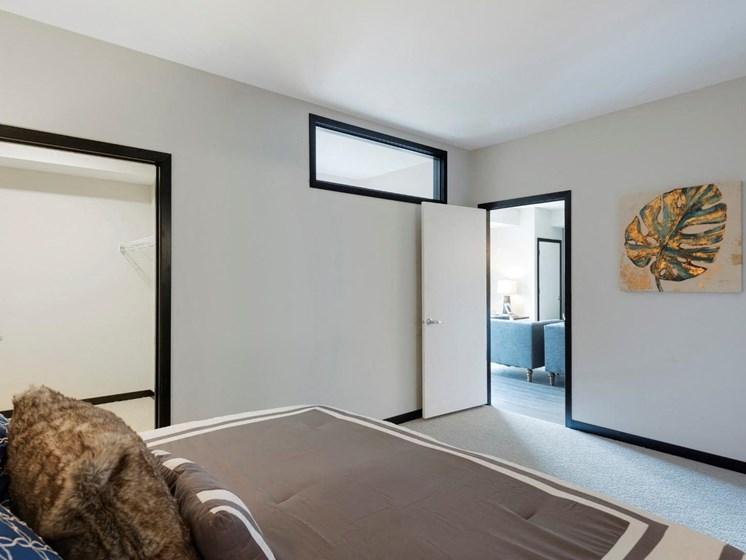 Spacious Bedrooms at The Shoreham, St. Louis Park