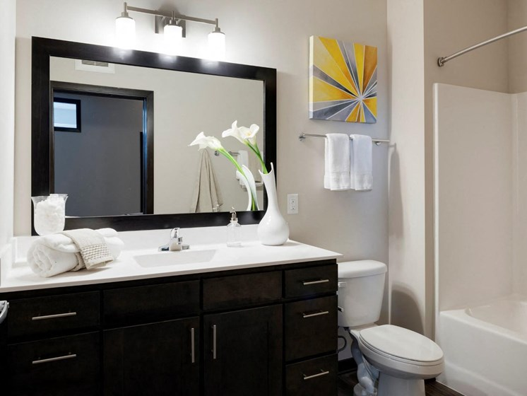 Custom Vanity Lighting at The Shoreham, Minnesota, 55416