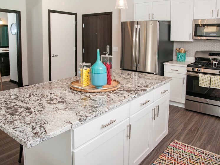 Marble Countertops at The Shoreham, Minnesota, 55416