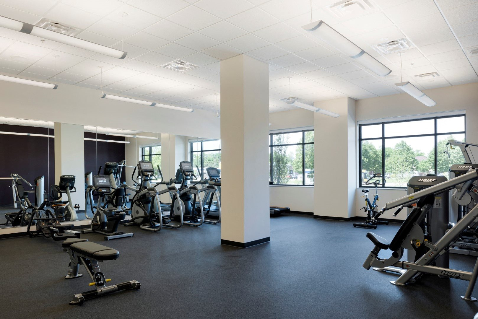 Modern Fitness Center at The Shoreham