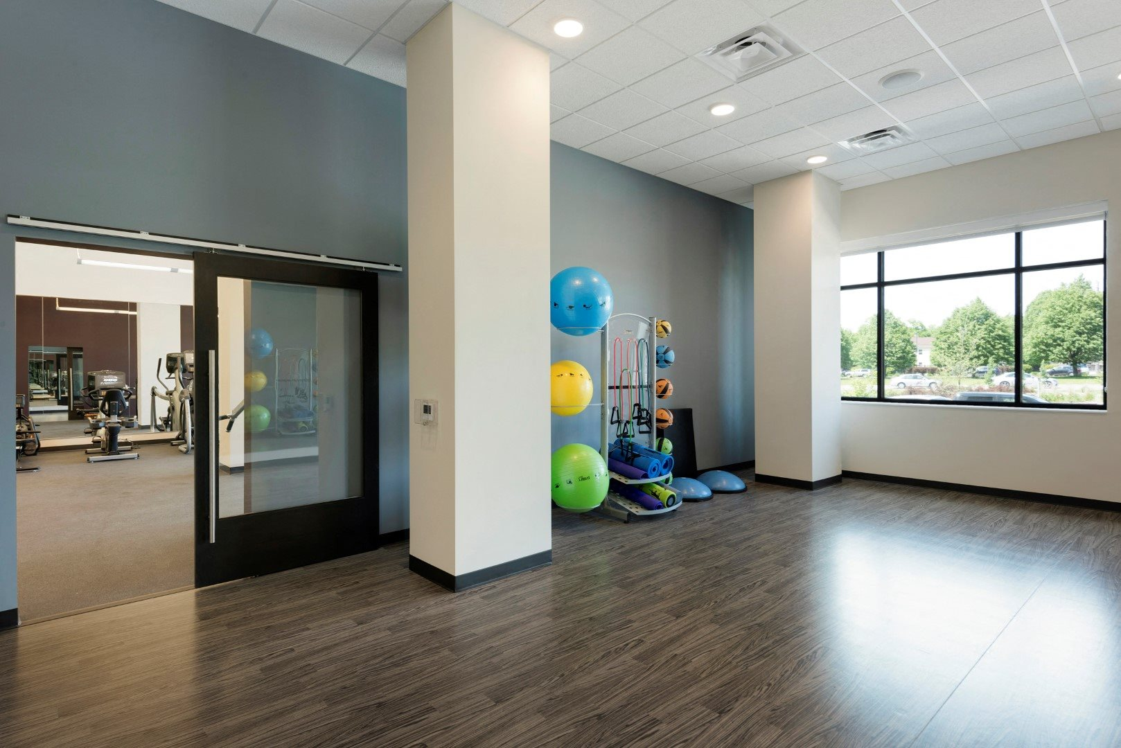 Spacious Fitness Center at The Shoreham