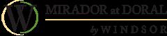 Mirador at Doral by Windsor Logo