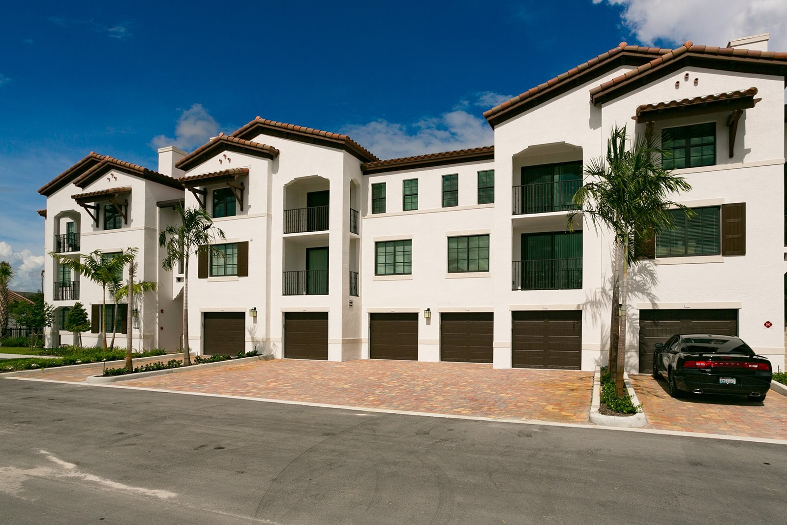 Private Garage at Mirador at Doral by Windsor