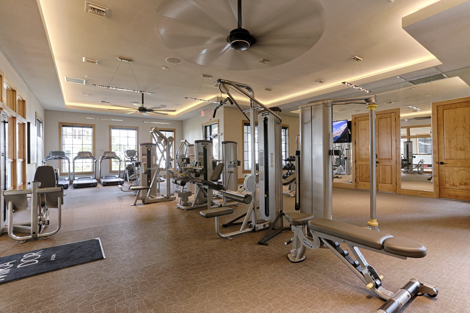 24 Hour Fitness Center at Mirador at Doral by Windsor
