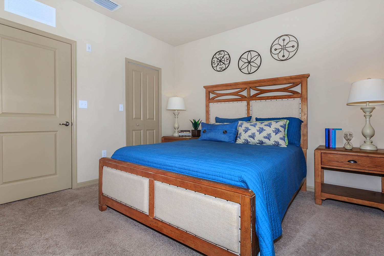 Bedroom at Riversong Apartments in Bradenton, FL