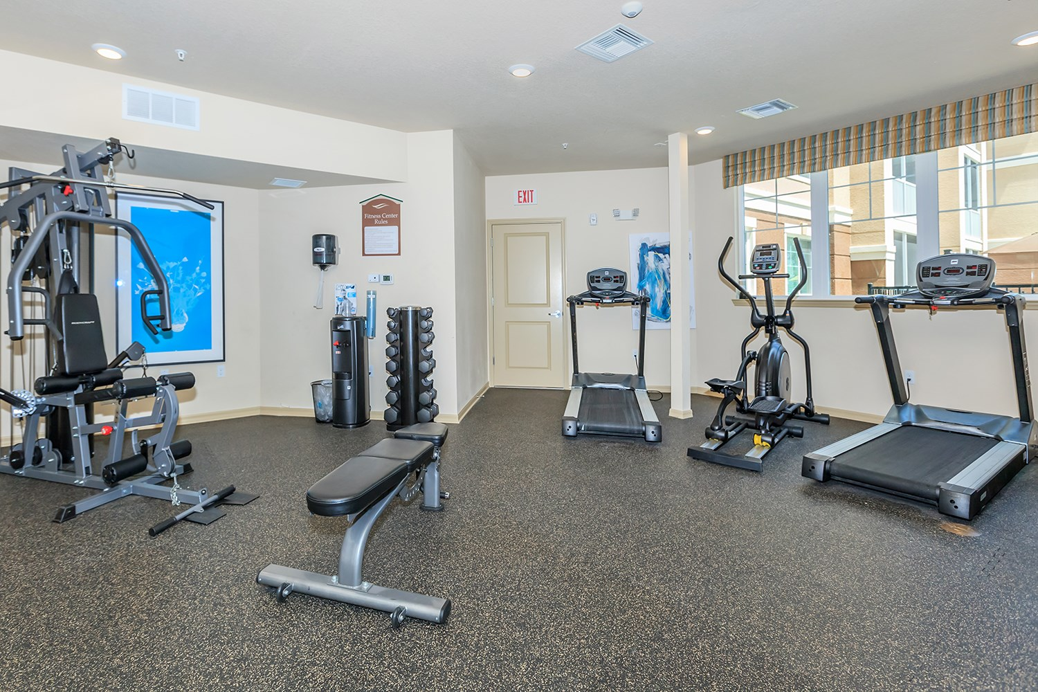Fitness Center at Riversong Apartments in Bradenton, FL