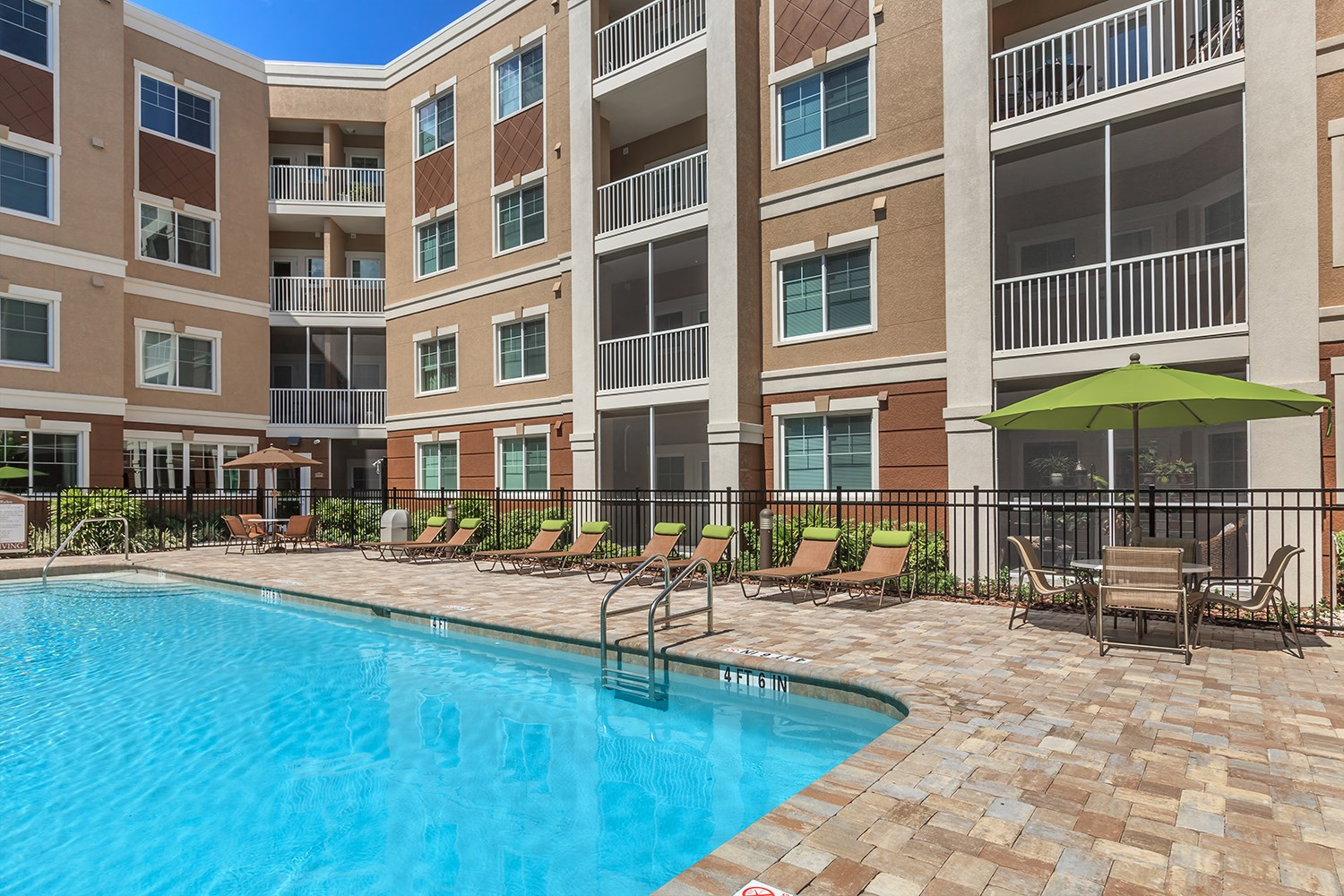 Swimming Pool at Riversong Apartments in Bradenton, FL