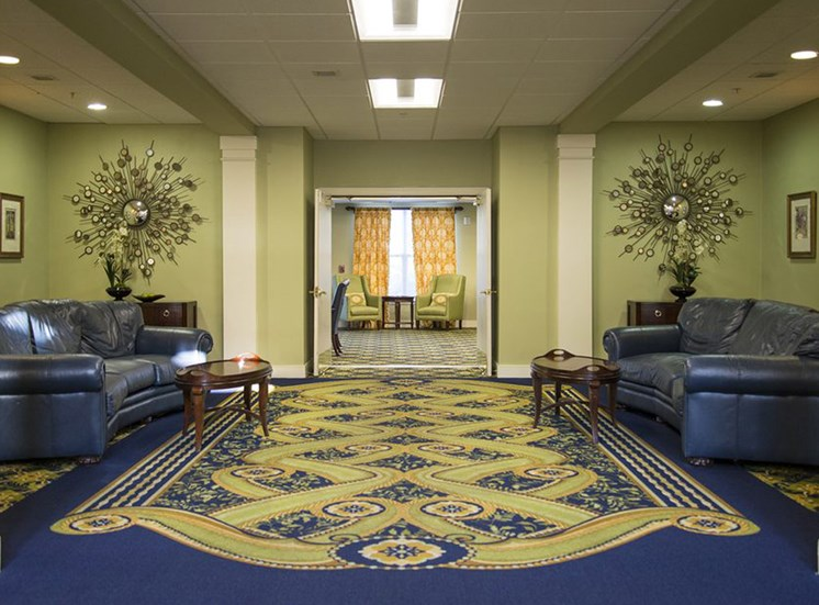Senior Apartment Living Lobby