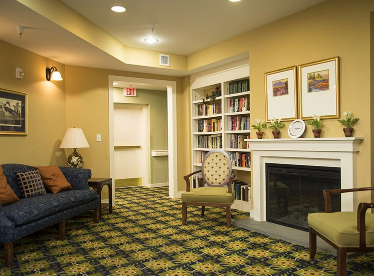 Senior Apartment Living Lobby 1