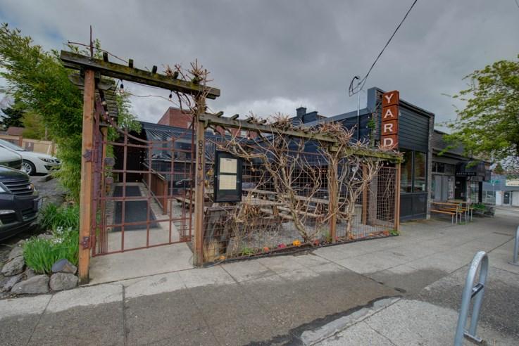 Greenwood Neighborhood - The Yard Pub with outdoor seating