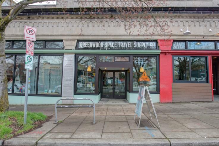 Greenwood Neighborhood - The Greenwood Space Travel Supply Co.