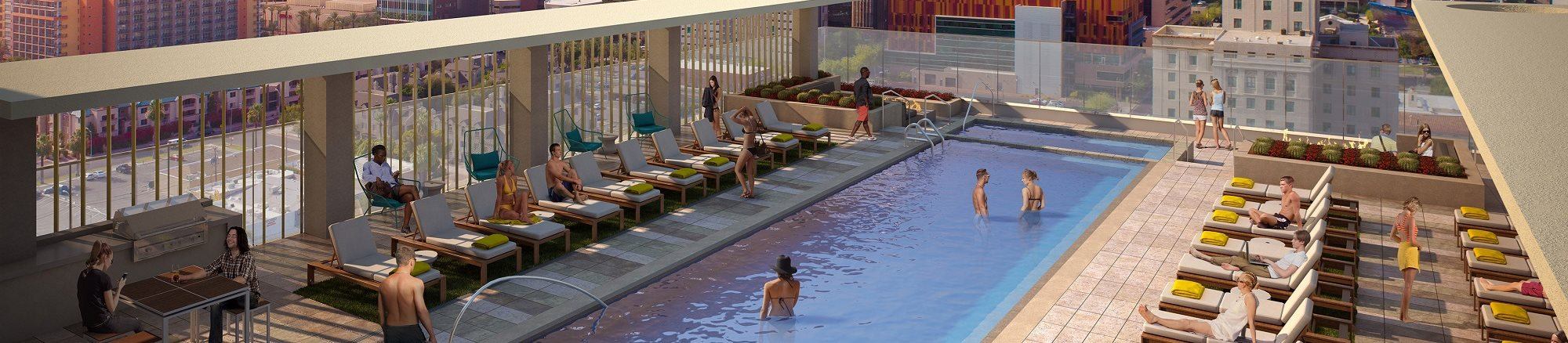 The Stewart Rooftop Pool