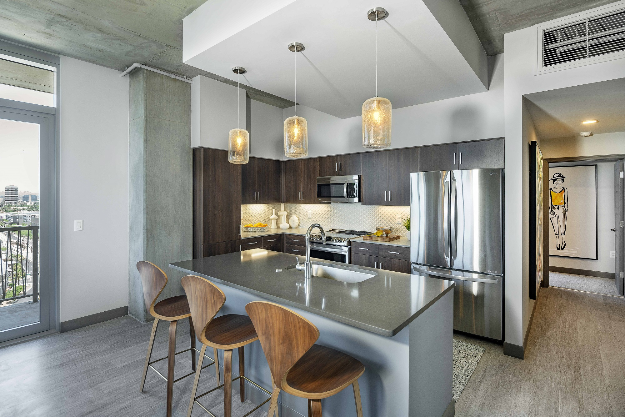 The Stewart kitchen