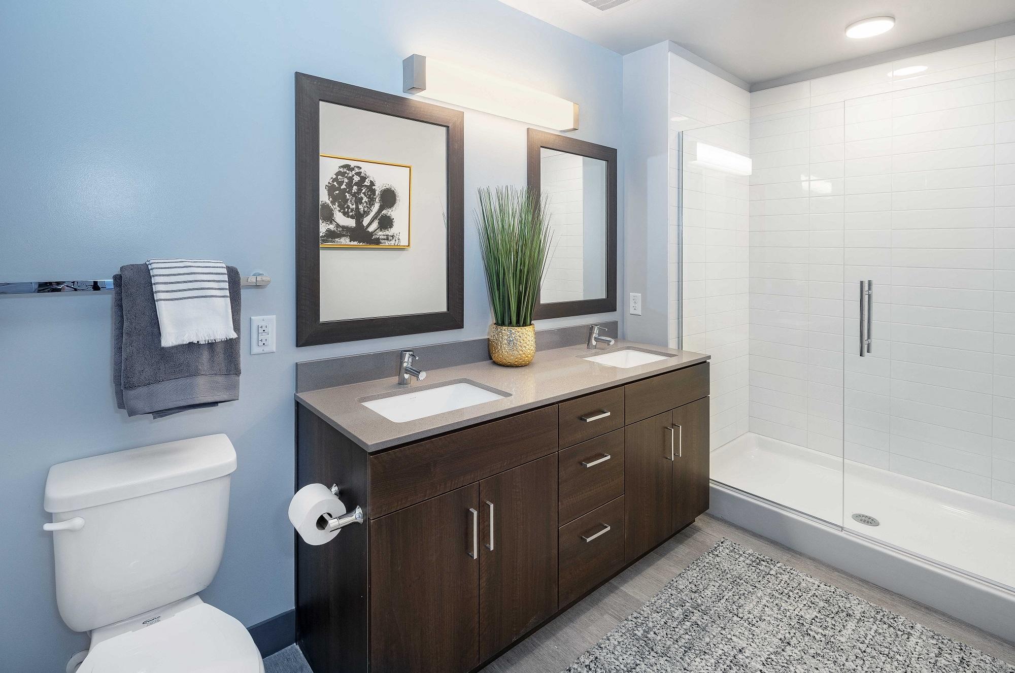 The Stewart bathroom
