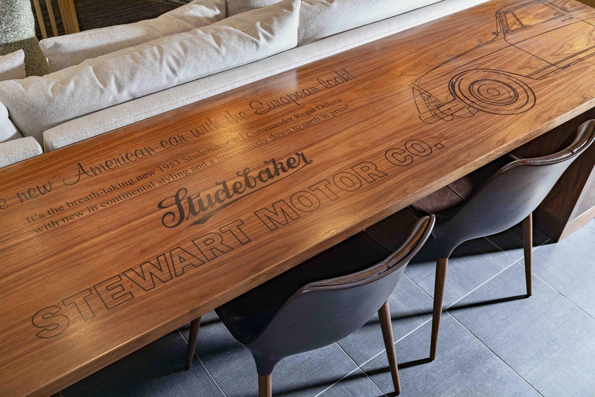 The Stewart desk
