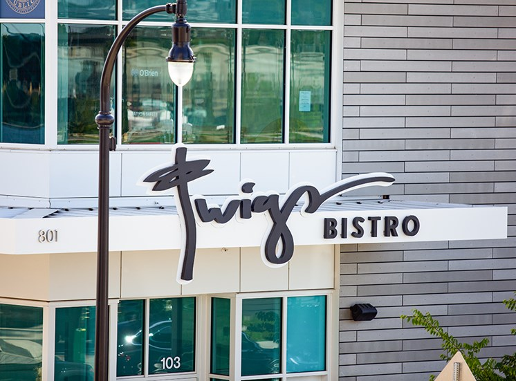 Vancouver, Washington Twigs Bistro Exterior