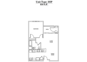 1 Bed 1 Bath 1HP Call for Pricing