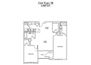 2 Bed 2 Bath 2B Call for Pricing